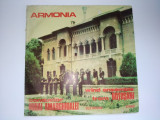 Disc RAR - vinil Orchestra de suflatori Armonia - Wind ensemble from Botosani, conductor Mihai Amarghioalei cu autograf, electrecord