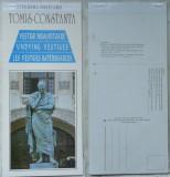 Pliant cu 12 carti postale detasabile cu vestigii ale Muzeului de istorie Tomis - Constanta, Necirculata, Romania de la 1950
