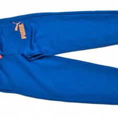 Pantaloni trening Puma pentru femei - Pantaloni dama Puma, Marime: L, Culoare: Albastru, Lungi