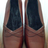 Pantof dama Made in Italia din piele marimea 37 foarte frumos - Reducere, Culoare: Din imagine, Piele naturala