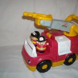 Fisher Price - Little People - Masina pompieri cu sunete