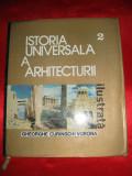 ISTORIA UNIVERSALA A ARHITECTURII, Curinschi Vorona, volumul 2, 1976 arhitectura