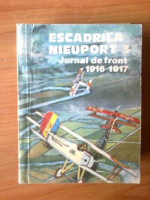 c Escadrila Nieuport 3 - Jurnal de front 1916-1917 foto