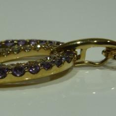 Colier aur 14k cu amethyst