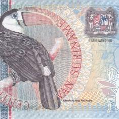 Bancnota Suriname 25 Gulden 2000 - P148 UNC - bancnota america
