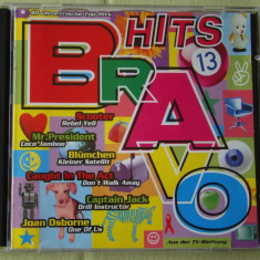 BRAVO HITS 13 (1996) - 2 C D Original - Muzica Dance emi records