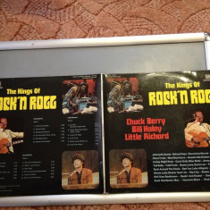 THE KINGS OF ROCK'N'ROLL - 2LP BOX SET-(1972/ BELLAPHON  REC/RFG)  - VINIL/VINYL