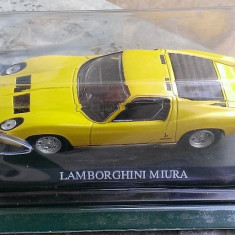 Macheta metal Del Prado (DelPrado) - Lamborghini Miura - NOUA, SIGILATA in blister, scara 1:43 - Macheta auto