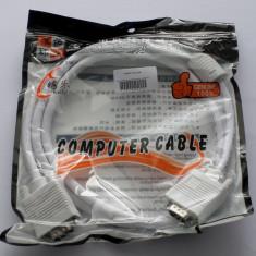 Cablu VGA T/T - 1,5m, cod:10100290