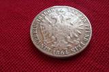 AUSTRIA     TALER  (VEREINSTHALER) 1864 A  FRANZ  JOSEPH   18,5 GR ARGINT 900