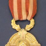 Medalia RASPLATA MUNCEI PENTRU BISERICA - Medalii Romania