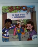 Eric si Alice in vizita la gradina zoologica (si expediere  5 lei/gratuit) (4+1)