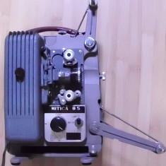 Proiector film 8 mm japonez miniatura anii 50 functional MITICA de colectie - Accesoriu Proiectie Aparate Foto