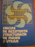 Calcule rezistenta structurilor de masini si utilaje de I. M. Constantinescu