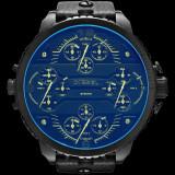 Ceas DIESEL 3 BAR - 4 Ceasuri Incluse  - Cadran Foarte Mare , Quartz , Curea Piele , Barbatesc