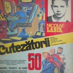HOPCT REVISTA CUTEZATORII NR 50 -DECEMBRIE 1975 -NICOLAE LABIS PE COPERTA ! - Revista scolara