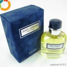 DOLCE GABBANA POUR HOMME 125 ml MADE IN FRANCE - Parfum barbati Dolce & Gabbana, Apa de toaleta
