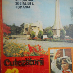 HOPCT REVISTA CUTEZATORII NR 43 - 25 OCTOMBRIE 1975 - Revista scolara