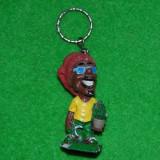 Jucarie figurina breloc cantaret raggee Bob Marley, praf ceramic, 6.5 cm, colectie, decor - Figurina Povesti