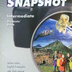 SNAPSHOT INTERMEDIATE STUDENT'S BOOK - Manual scolar, Clasa 9, Limbi straine