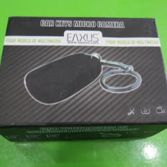 Camera spion model cheie auto suport micro sd 16gb MAS219