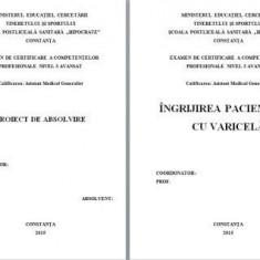LICENTA A.M.G. INGRIJIREA PACIENTILOR CU VARICELA (1) (+PREZENTARE PP)