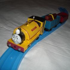 Tomy - Thomas and Friends - Trackmaster - Locomotiva motorizata (cu baterii) PROTEUS - Trenulet Tomy, Plastic