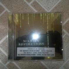Vand cd original MATRIX REVOLUTION MUSIC FROM THE MOTION PICTURE - Muzica soundtrack warner