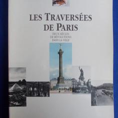 CARTE ARHITECTURA ~ PIERRE PINON -  LES TRAVERSEES DE PARIS  - 1989