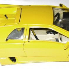 MACHETA METALICA Bburago - LAMBORGHINI DIABLO (1990), SCARA1/18, LUNGIME 25cm., MADE IN ITALY - TRANSPORT GRATUIT !!! - Macheta auto