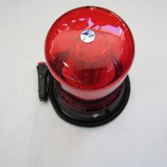 Girofar cu magnet 51066 cu 120 LED Rosu 12V - Proiectoare tuning, Universal