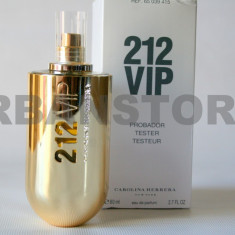 Parfum Tester Carolina Herrera 212 VIP + LIVRARE GRATUITA! - Parfum femeie Carolina Herrera, Apa de parfum, 80 ml, Floral