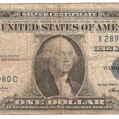 SUA USA 1 DOLAR DOLLAR 1935 A U - bancnota america