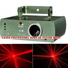 PROMOTIE! LASER ROSU DE PUTERE MARE 200mw SHINP SL4, CU ACTIVARE LA SUNET, LASER DISCO LA PRET DE OKAZIE. - Laser lumini club