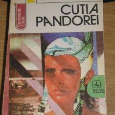 RWX 29 - CUTIA PANDOREI - TUDOR NEGOITA - EDITATA IN 1986 - Roman