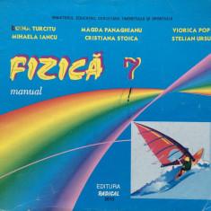 FIZICA MANUAL PENTRU CLASA A VII-A - Doina Turcitu - Manual scolar, Clasa 7