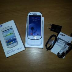 Samsung Galaxy S3 mini - Telefon mobil Samsung Galaxy S3 Mini, Alb, Neblocat