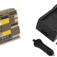 1 PATONA | Incarcator + Acumulator compatibil Canon BP 511 BP511 BP 511A BP511A - Incarcator Aparat Foto