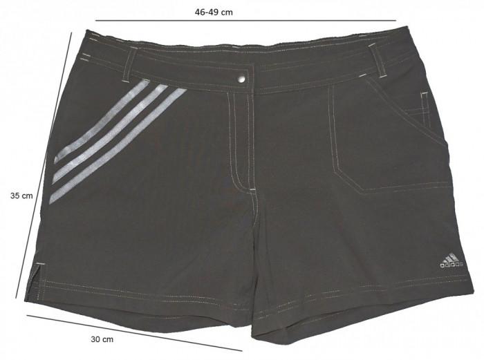 Pantaloni scurti sport casual ADIDAS ClimaLite, ca noi (dama XL spre 2XL) foto mare