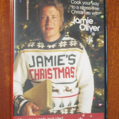 JAMIE OLIVER - JAMIE'S CHRISTMAS - DVD (original din Anglia, in stare impecabila!!!)