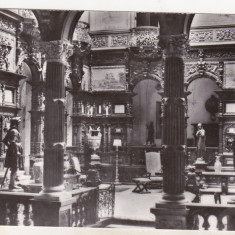 Bnk cp Sinaia - Muzeul Peles - Holul de onoare - necirculata