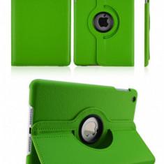 Husa Eleganta  iPad Rotativa 360 grade iPad 2/3/4 Verde| Piele Ecologica