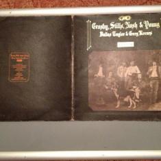 CROSBY, STILLS, NASH & YOUNG -DEJA VU -gen :ROCK -(1970/ POLYDOR REC) - VINIL-UK - Muzica Rock universal records