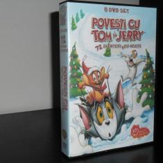 Povesti cu Tom si Jerry - Colectie 8 DVD-uri Desene Animate Dublate Romana - Film animatie warner bros. pictures