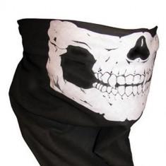 CAGULA CU CAP DE MORT bandana schelet skelet PAINTBALL AIRSOFT MOTO skull masca