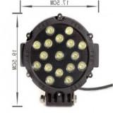 Proiector LED 51W 12/24V CH013B 51W COMBO - Proiectoare tuning, Universal