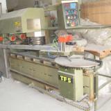 Centru unghiular de cepuit si profilat tamplarie termopane din lemn stratificat marca Steton IRWA TF5
