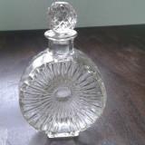Sticla veche de colectie 16 cm H, sticla groasa 2+1 GRATIS - Arta din Sticla