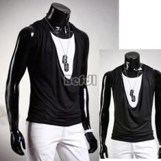 Vesta SLIM FIT fashion casual deschidere mare, cardigan - Vesta barbati, Marime: S, M, Culoare: Din imagine, Bumbac, Sport