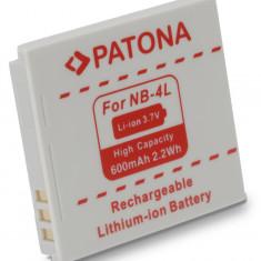 1 PATONA | Acumulator pt Canon NB 4L NB 4LH NB4L Ixus 30 40 50 55 60 65 70 75 80 - Baterie Aparat foto